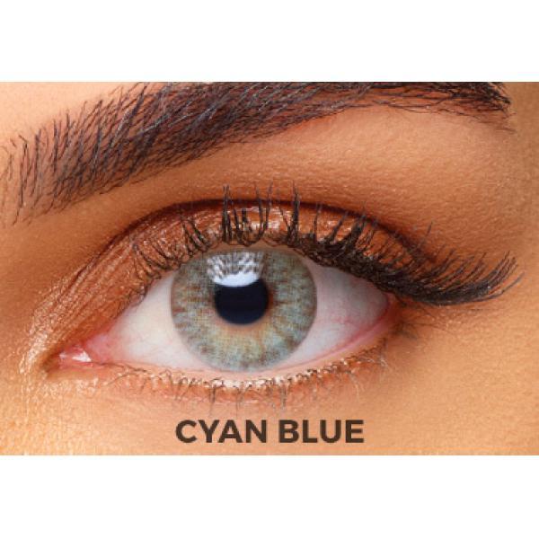 solotica aquarella cyan blue